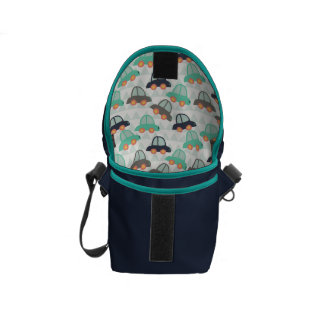 Cars and More Cars Courier Bag