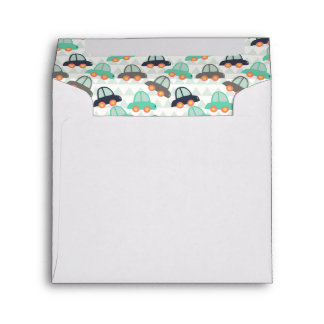 Cars and More Cars Envelope