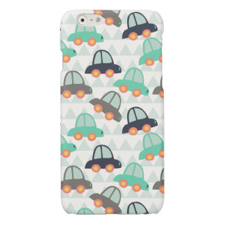 Cars and More Cars Glossy iPhone 6 Case