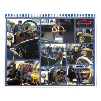 Cars and motorcyles less than an hour from home! wall calendar
