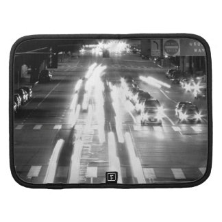Cars And Movement Black And White Folio Planners