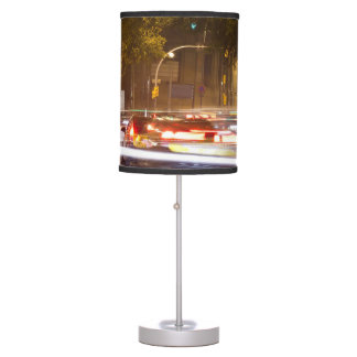 Cars At Night Desk Lamp