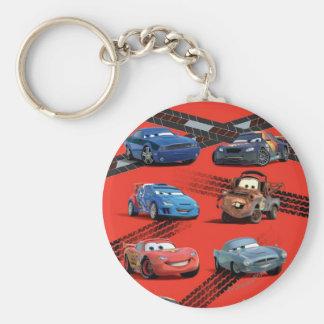 Cars Basic Round Button Keychain