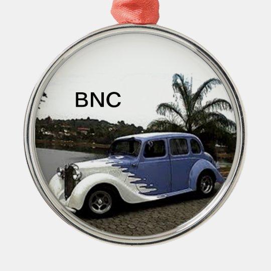 Cars BNC Metal Ornament