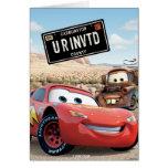 Cars Card Frame Disney