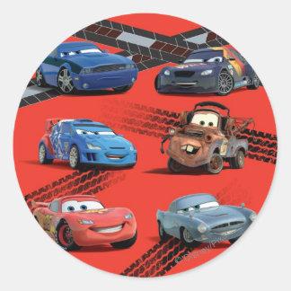 Cars Classic Round Sticker