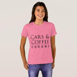Cars & Coffee Corona Girls T-Shirt