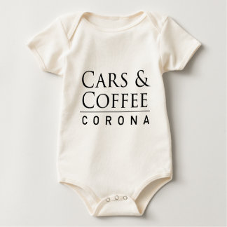 Cars & Coffee Corona Merchandise Baby Bodysuit