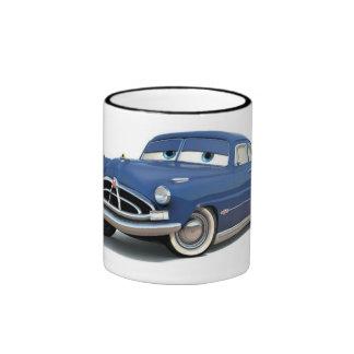 Cars Doc Hudson Disney Ringer Coffee Mug