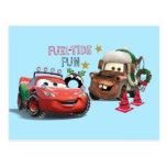 Cars | Fuel-Tide Fun Postcard