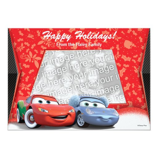 Cars Holiday Photo Card