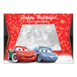 Cars Holiday Photo Card Personalized Announcement