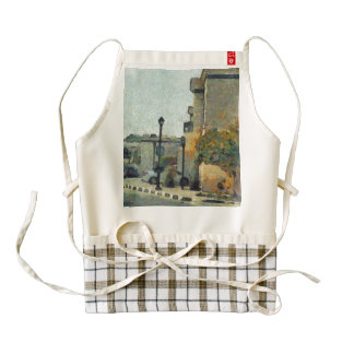 Cars in a Residential neighborhood Zazzle HEART Apron