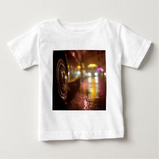 Cars in on urban street rainy night hasselblad med tee shirt