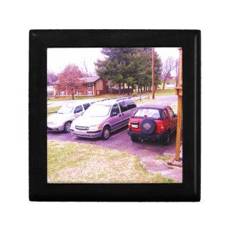 cars.JPG family cars in driveway Gift Box