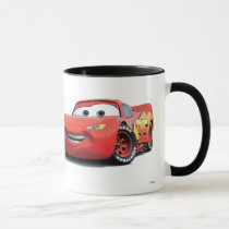 Cars Lighting McQueen and Sally Disney Mug