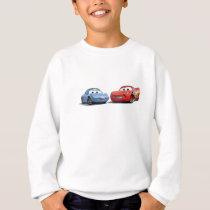 Cars Lighting McQueen and Sally Disney Sweatshirt