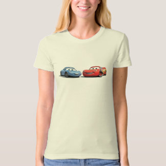 Cars Lighting McQueen and Sally Disney T Shirts