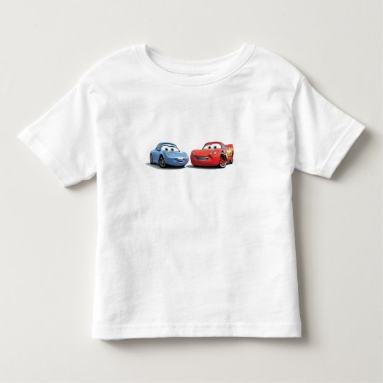 Cars Lighting McQueen and Sally Disney Toddler T-shirt