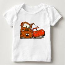 Cars Lightning McQueen and Mater Disney Baby T-Shirt