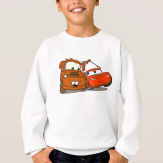 Cars Lightning McQueen and Mater Disney Sweatshirt