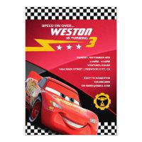 Cars Lightning McQueen | Birthday Card