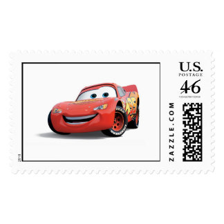 Cars Lightning McQueen Disney Stamp