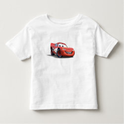Toddler Fine Jersey T-Shirt with Lightning McQueen Ka-CHOW! design