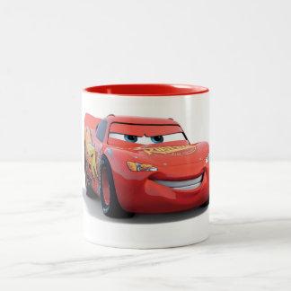 Cars' Lightning McQueen Disney Two-Tone Coffee Mug