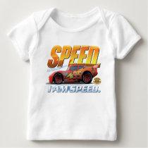 "Cars' Lightning McQueen ""I Am Speed"" Disney Baby T-Shirt"