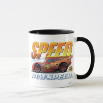 """Cars' Lightning McQueen """"I Am Speed"""" Disney Mug"""