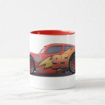 Cars' Lightning McQueen Profile Disney Mug