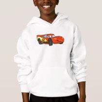 Cars Lightning McQueen Smiling Disney Hoodie