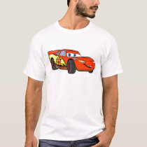 Cars Lightning McQueen Smiling Disney T-Shirt