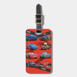 Cars Luggage Tag at Zazzle