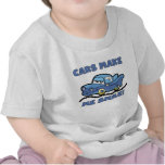 Cars Make Me Smile T-shirts and Gifts