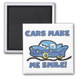 Cars Make Me Smile T-shirts and Gifts Fridge Magnet