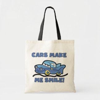 Cars Make Me Smile T-shirts and Gifts Tote Bag