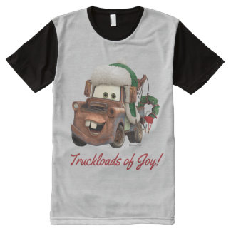 Cars | Mater In Winter Gear All-Over-Print T-Shirt