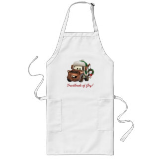 Cars   Mater In Winter Gear Long Apron