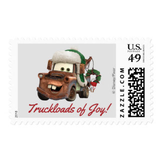 Cars | Mater In Winter Gear Postage