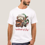 Cars | Mater In Winter Gear T-shirt at Zazzle