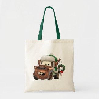 Cars   Mater In Winter Gear Tote Bag