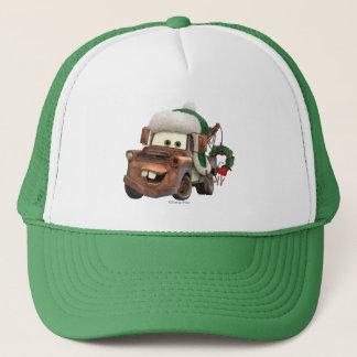 Cars | Mater In Winter Gear Trucker Hat