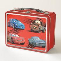 Cars Metal Lunch Box