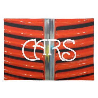 Cars Placemat - Customized