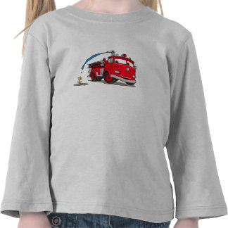 Cars' Red Disney Tee Shirts