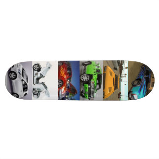 Cars Skateboard Deck
