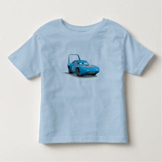 """Cars Strip """"The King"""" Weathers Dinoco race car Toddler T-shirt"""