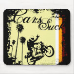 Cars Suck (70s) Mouse Pads